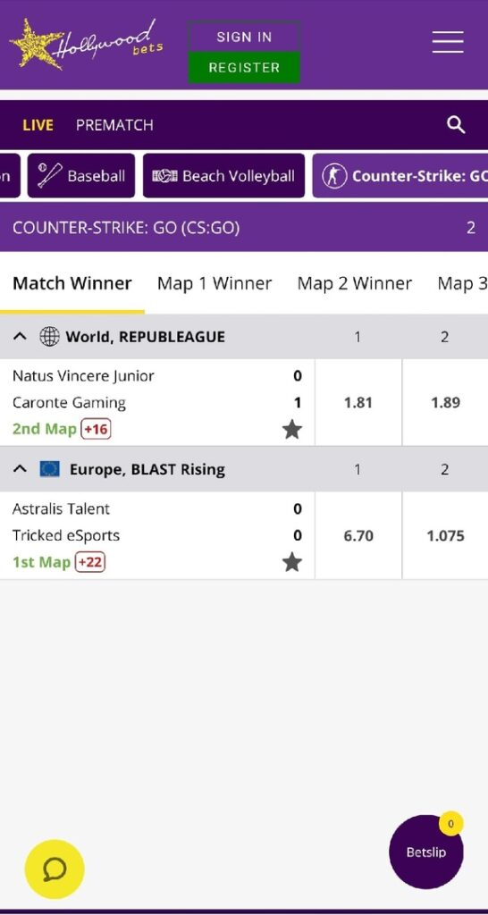 Hollywoodbets app download