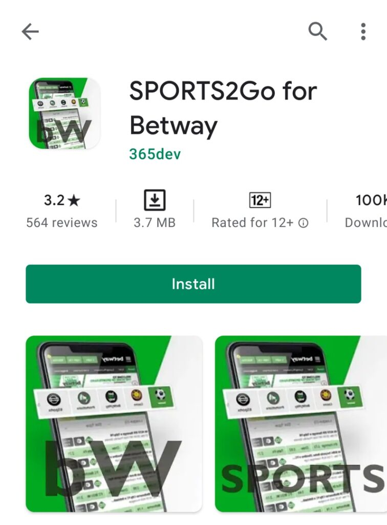 betway apk on android