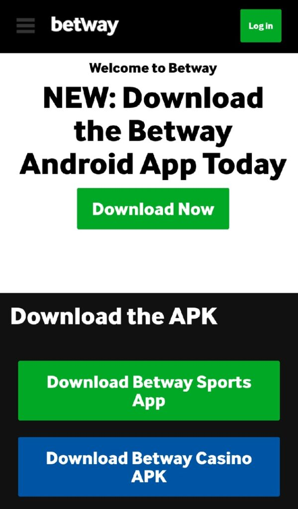 betway app download for android