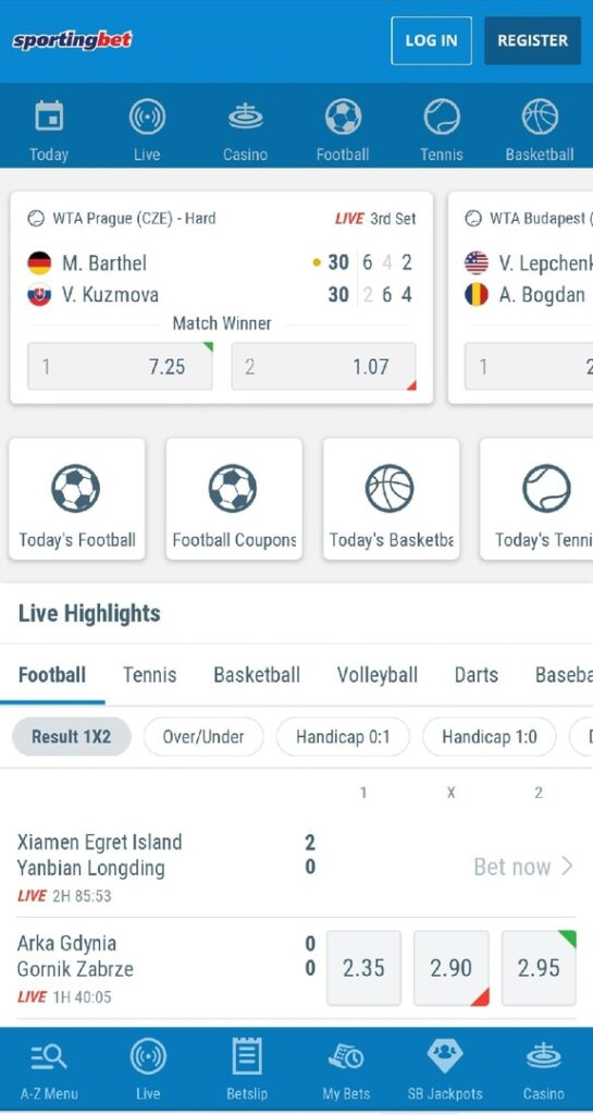 Sportingbet app review
