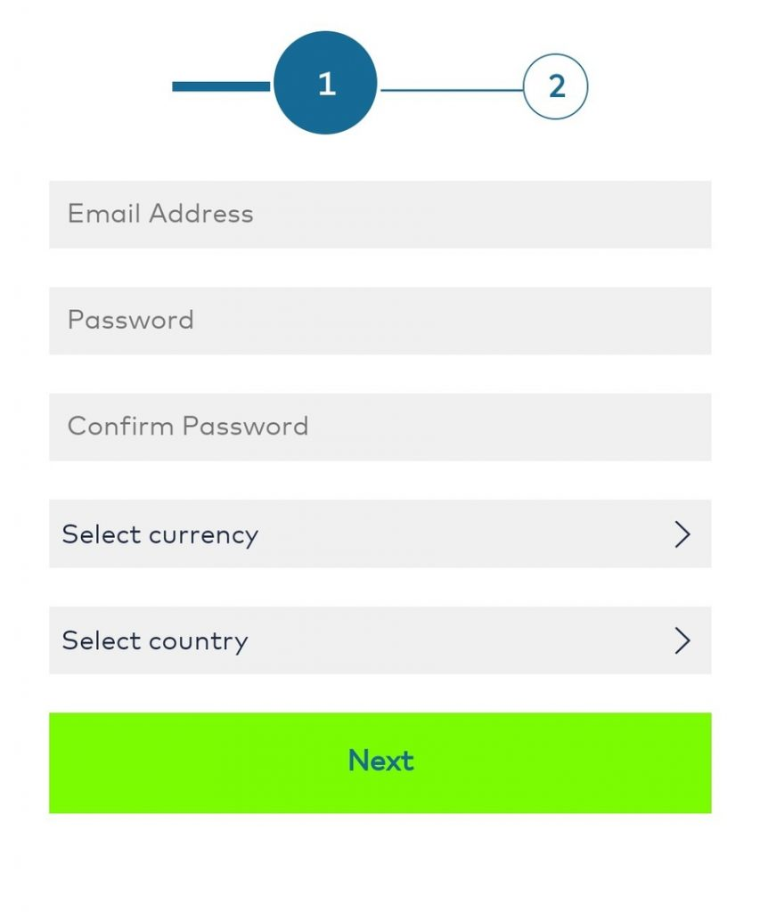 Registration - Create New Account