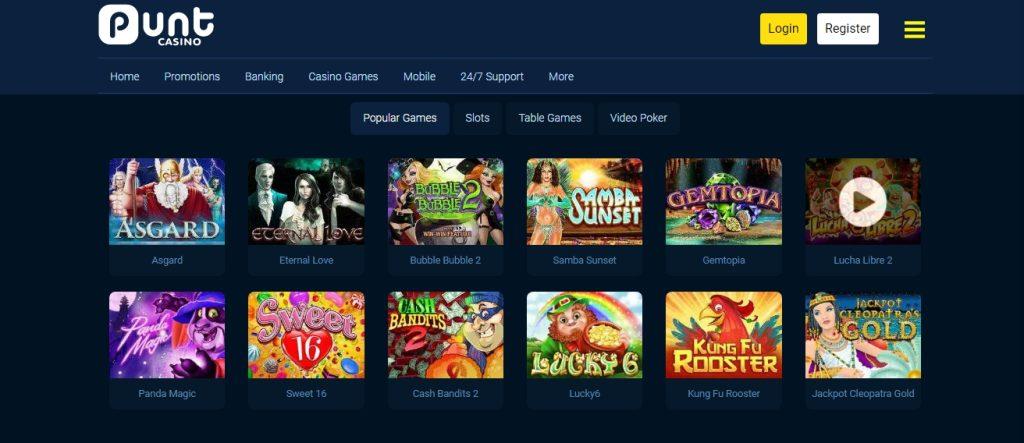 Popular Slots