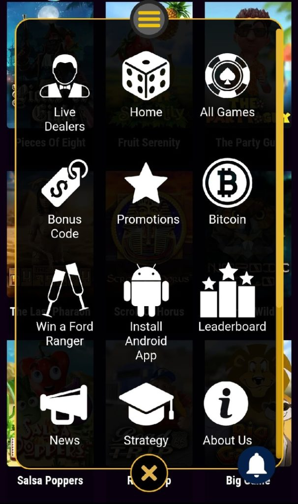 ZAR Casino Mobile App