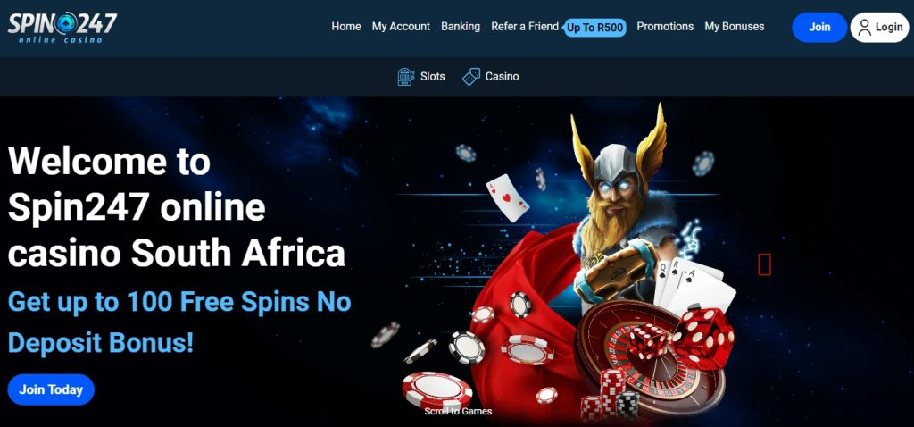 Spin247 Casino South Africa
