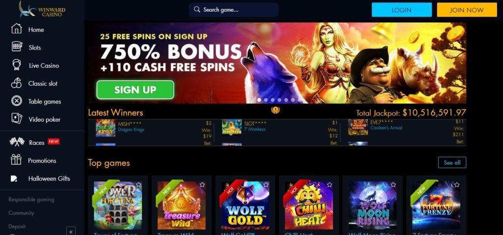 Winward Casino Online South Africa